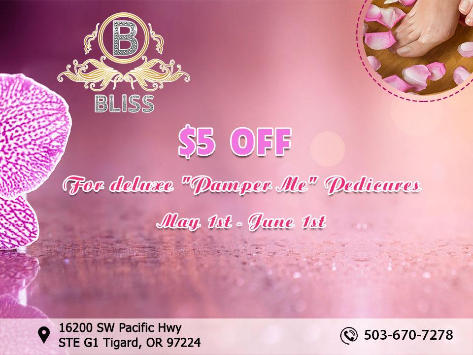 Bliss Nails Spa Nail Salon In Tigard Or 97224